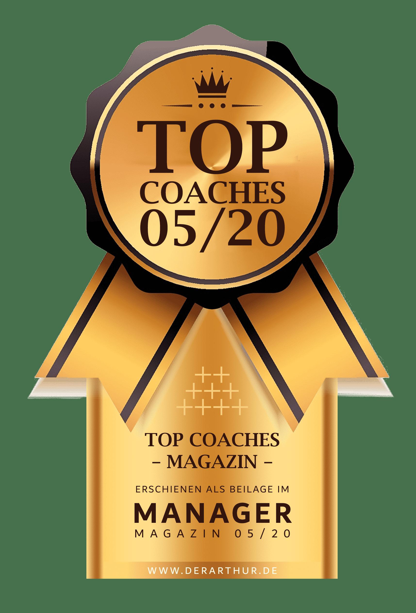 Siegel Top Coaches 05 20 min Finest Audience by Dawid Przybylski - Facebook Marketing - Instagram Marketing