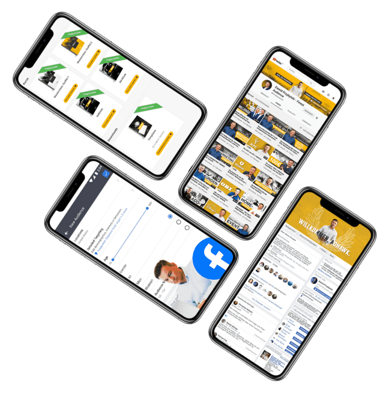 4 Handys Finest Audience by Dawid Przybylski - Facebook Marketing - Instagram Marketing