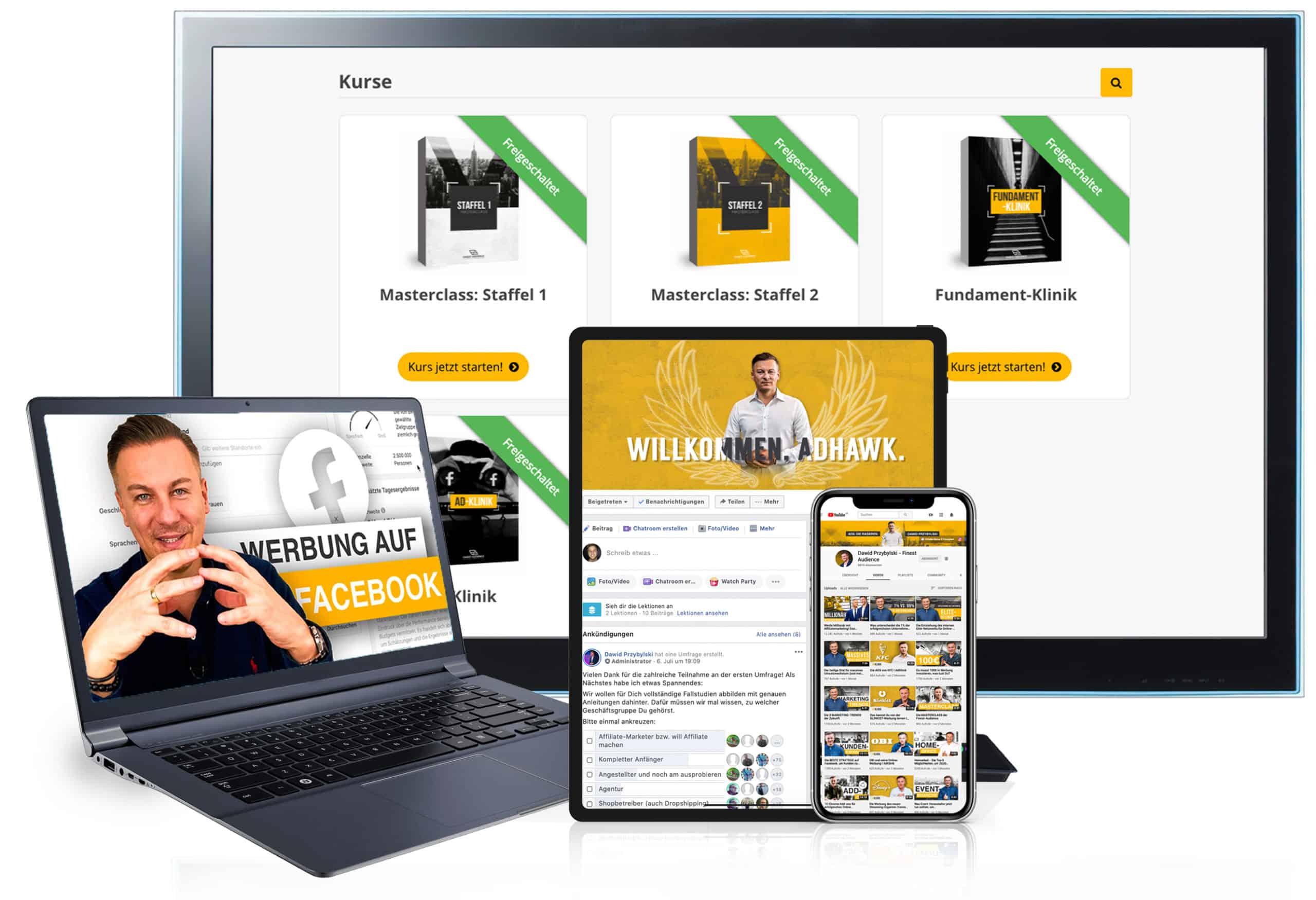 Website Geräte 1 scaled Finest Audience by Dawid Przybylski - Facebook Marketing - Instagram Marketing