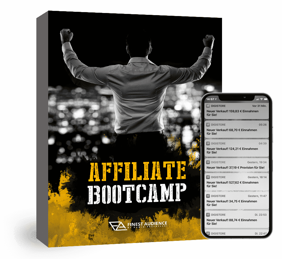 Bootcamp Phone product Finest Audience by Dawid Przybylski - Facebook Marketing - Instagram Marketing